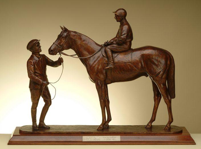 Pinza and Sir George Richard - Derby Trophy 2003 - William Newton