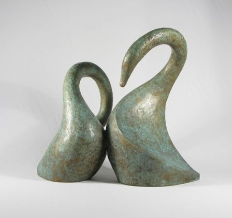 The Pair of Swans - Anita Toscani