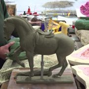 Newent Valegro Sculpture Project- Bring on the wax maquettes