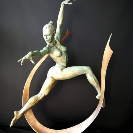 'Arc Dancer' by artist Michael Long