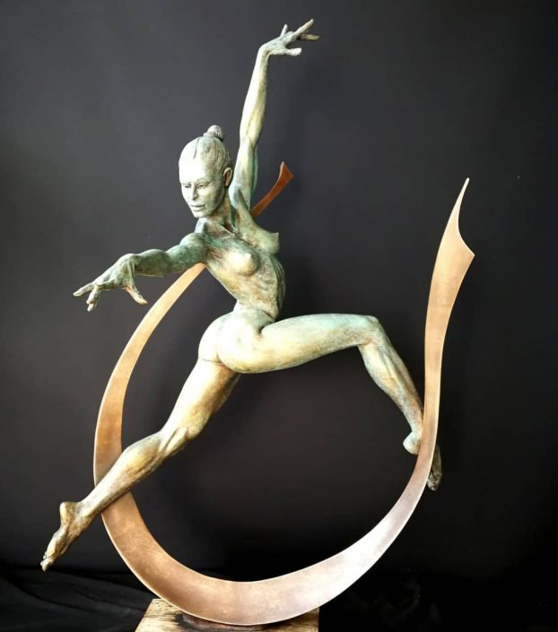 'Arc Dancer' by artist Michael Long